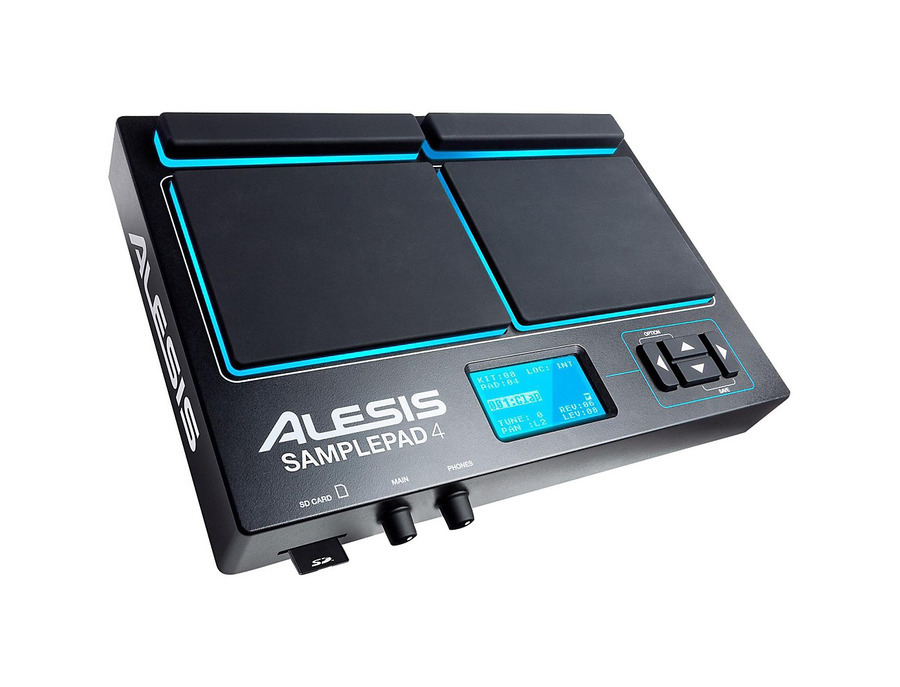 Alesis sample pad 4 percussion and sample triggering instrument 01 xl