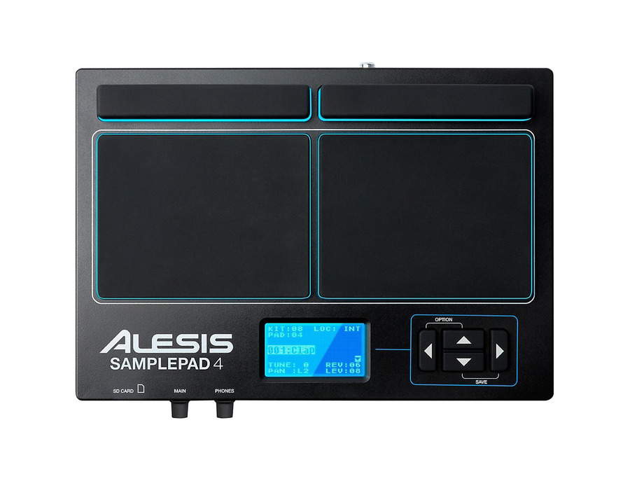 Alesis sample pad 4 percussion and sample triggering instrument 02 xl