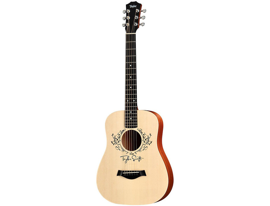 Taylor taylor swift signature acoustic guitar natural 3 4 size dreadnought 00 xl
