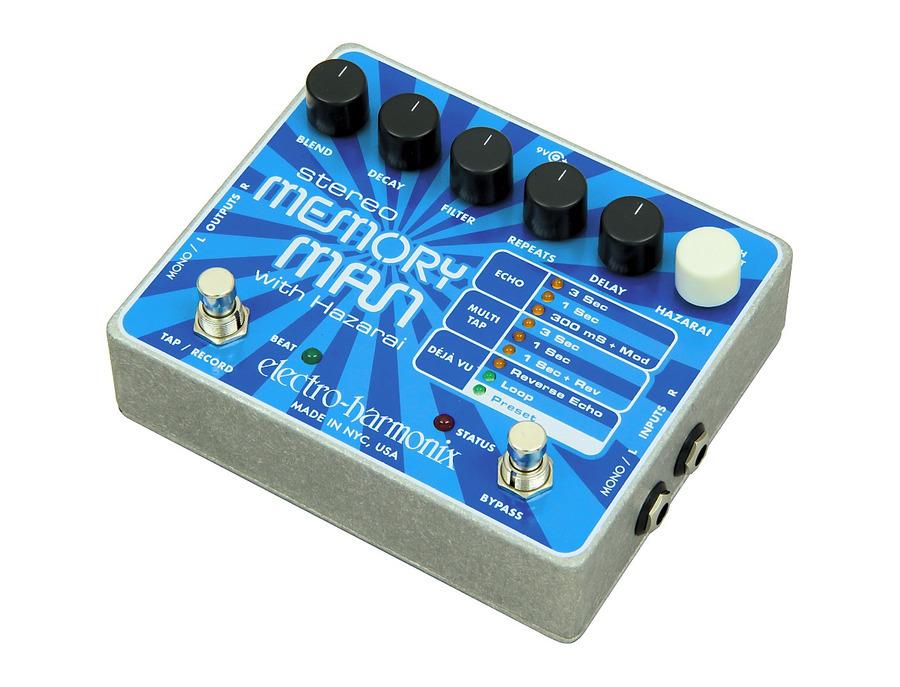 Electro harmonix stereo memory man with hazarai 00 xl