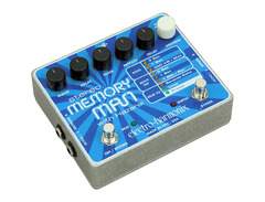 Electro harmonix stereo memory man with hazarai 01 s