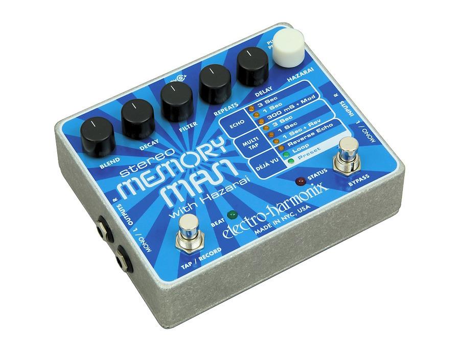 Electro harmonix stereo memory man with hazarai 01 xl