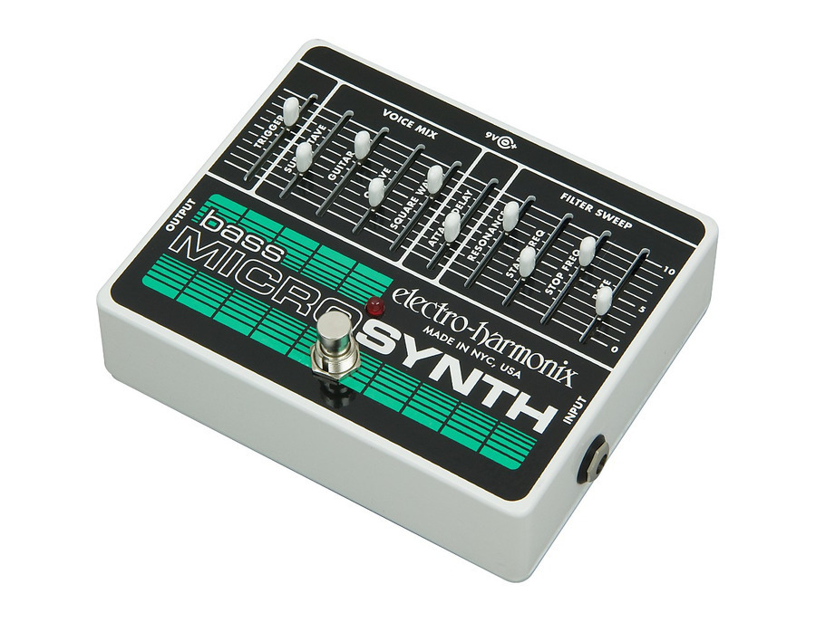 Electro harmonix bass microsynth effects pedal 00 xl