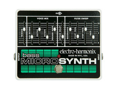 Electro harmonix bass microsynth effects pedal 01 s