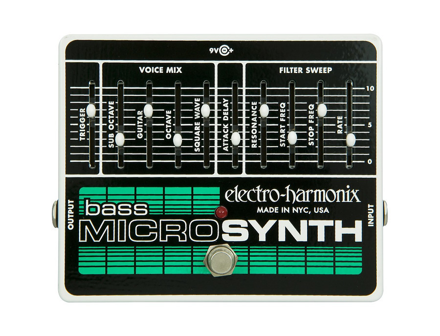 Electro harmonix bass microsynth effects pedal 01 xl