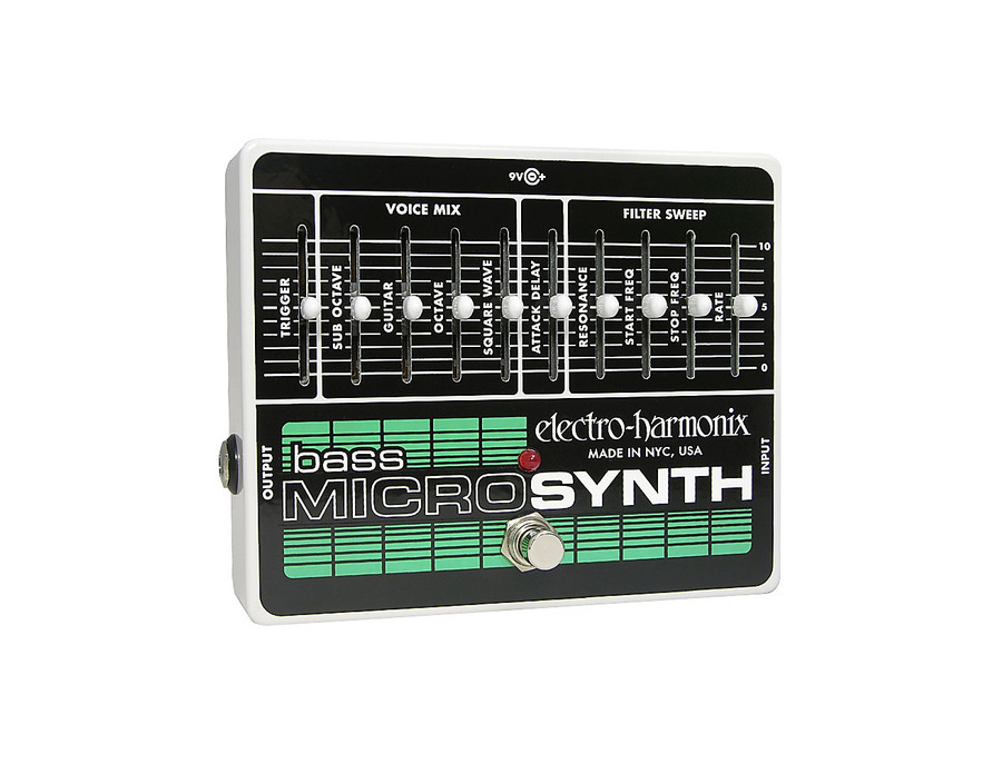 Electro harmonix bass microsynth effects pedal 02 xl