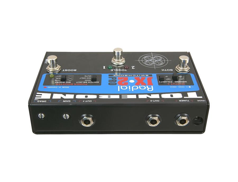 Radial engineering tonebone jx 2 pro switchbone 00 xl