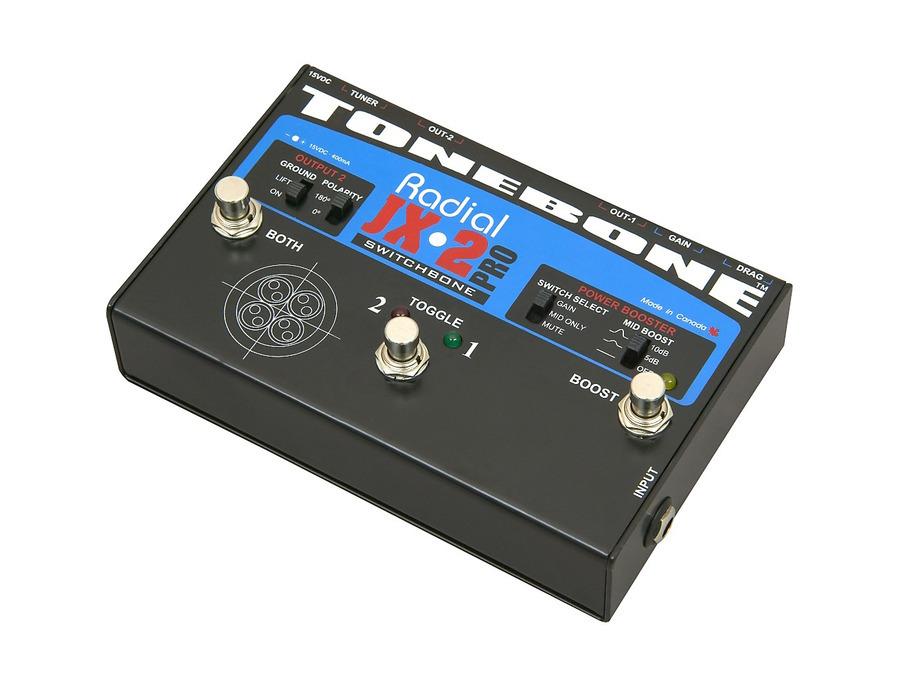 Radial engineering tonebone jx 2 pro switchbone 01 xl