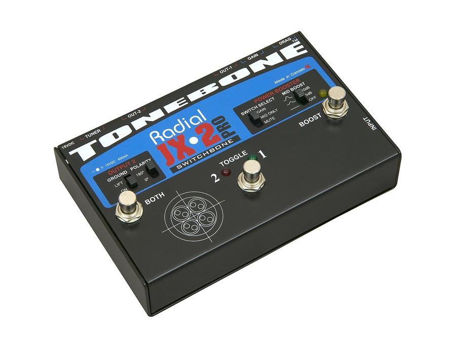 Radial engineering tonebone jx 2 pro switchbone 02 xl