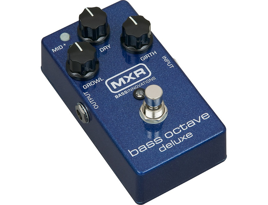 Mxr m288 bass octave deluxe effects pedal 01 xl