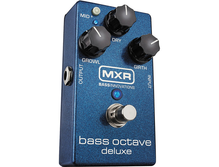 Mxr m288 bass octave deluxe effects pedal 02 xl