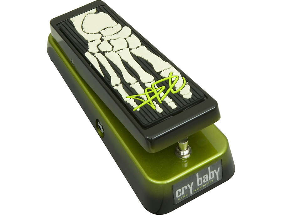 Dunlop kh95 kirk hammett signature cry baby wah guitar effects pedal 05 xl