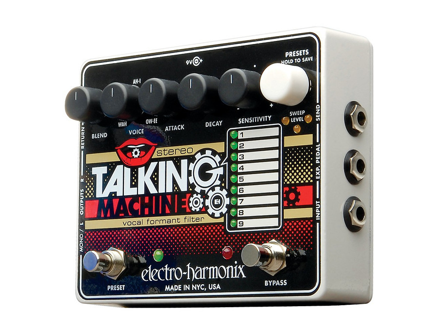 Electro harmonix stereo talking machine vocal formant filter 00 xl