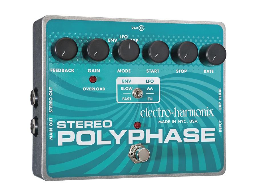 Electro harmonix xo stereo polyphase 02 xl