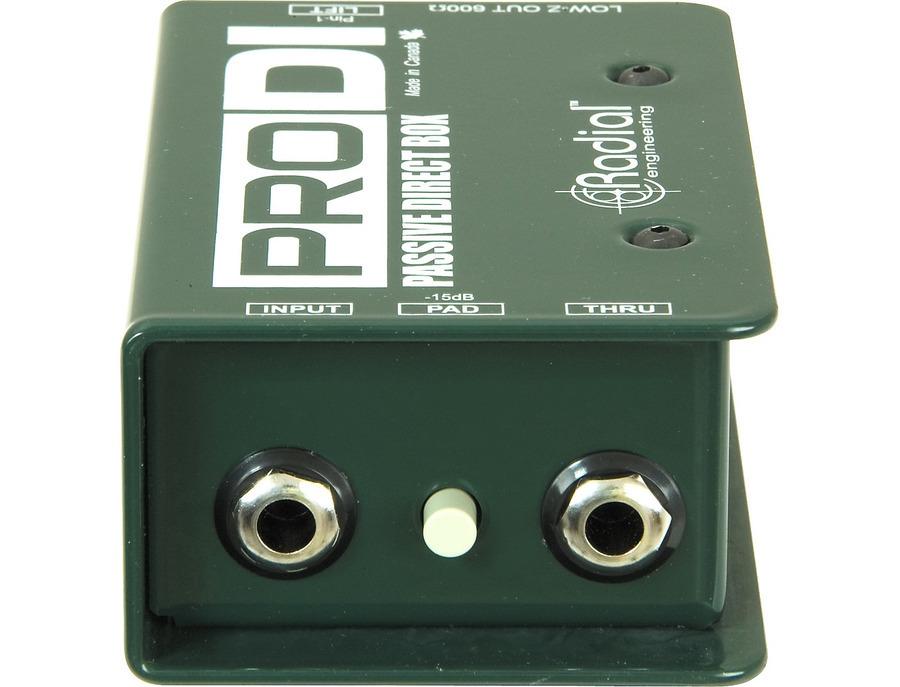 Radial engineering prodi passive direct box 00 xl