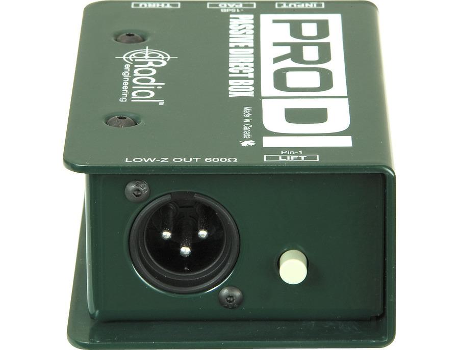 Radial engineering prodi passive direct box 01 xl
