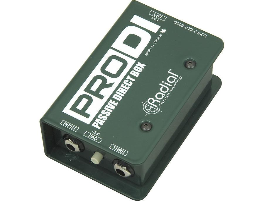 Radial engineering prodi passive direct box 02 xl