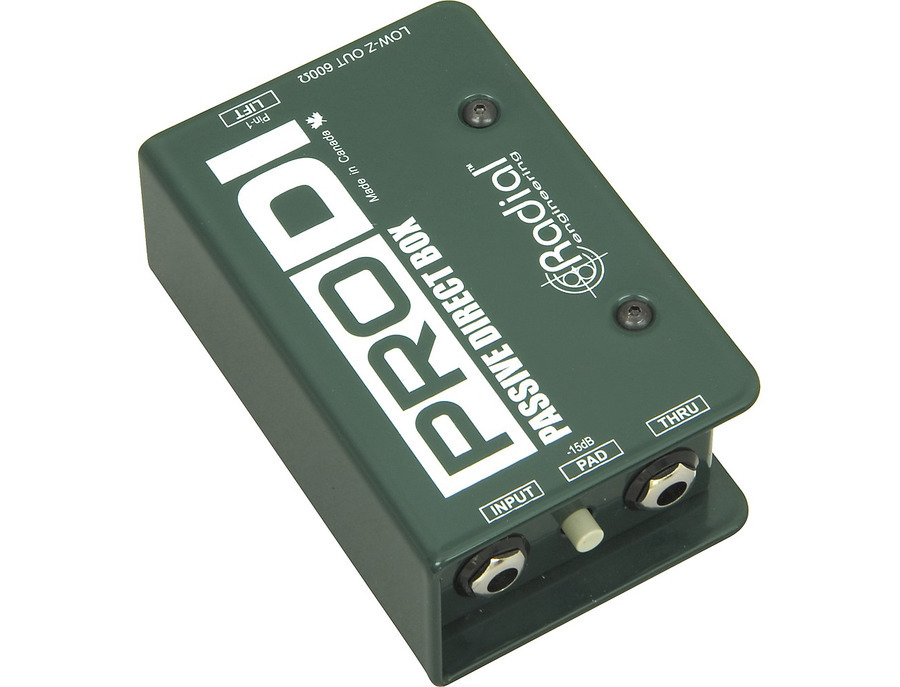Radial engineering prodi passive direct box 03 xl