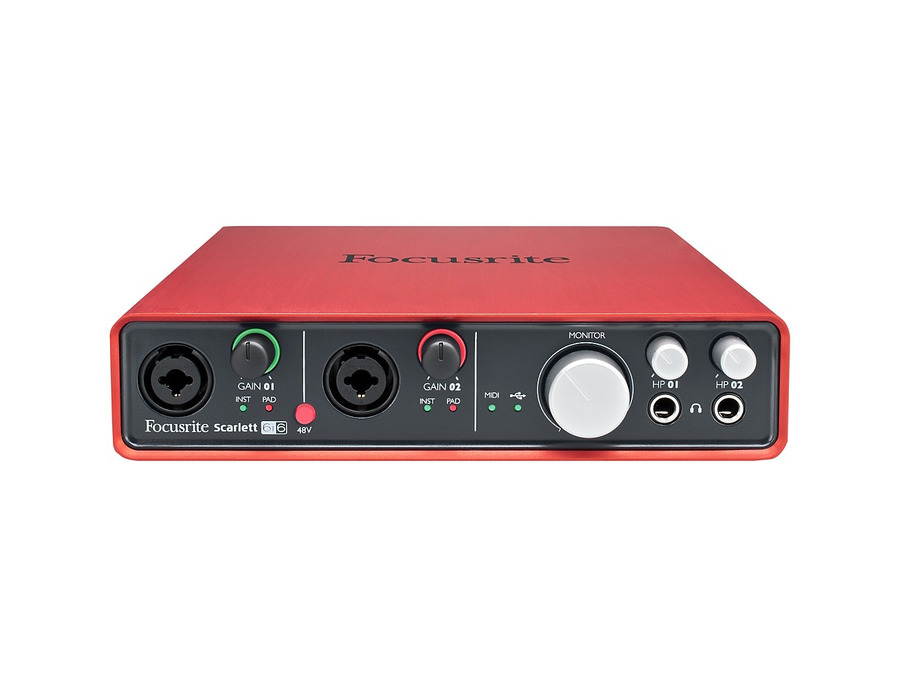 Focusrite scarlett 6i6 audio interface 00 xl