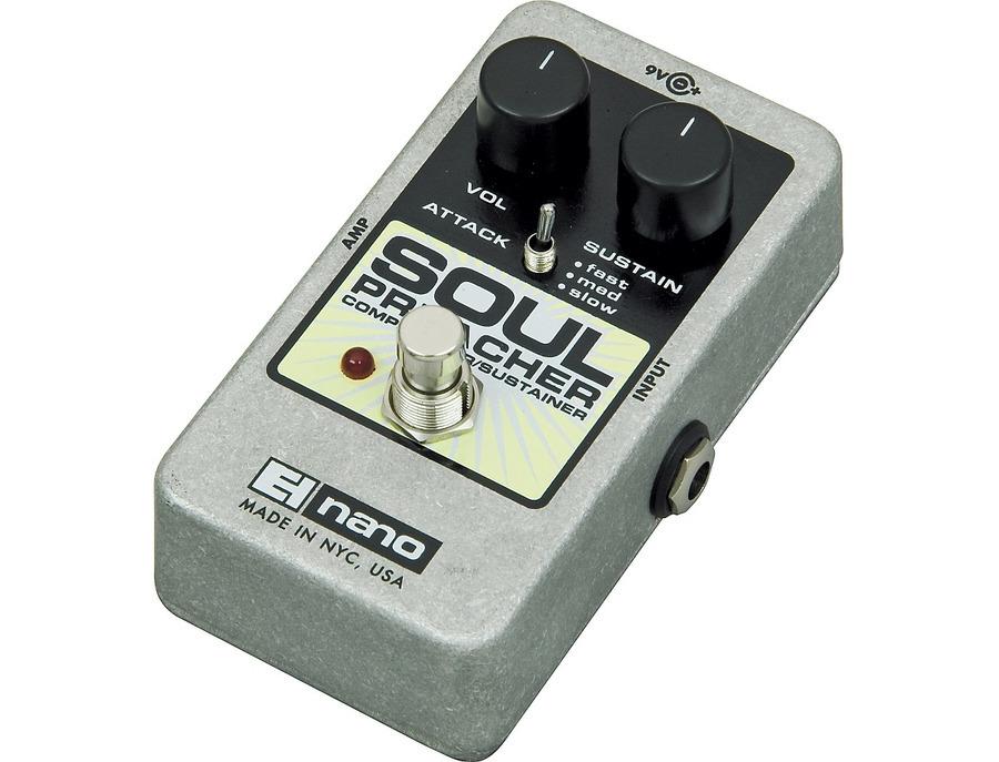 Electro harmonix nano soul preacher comp pedal 00 xl