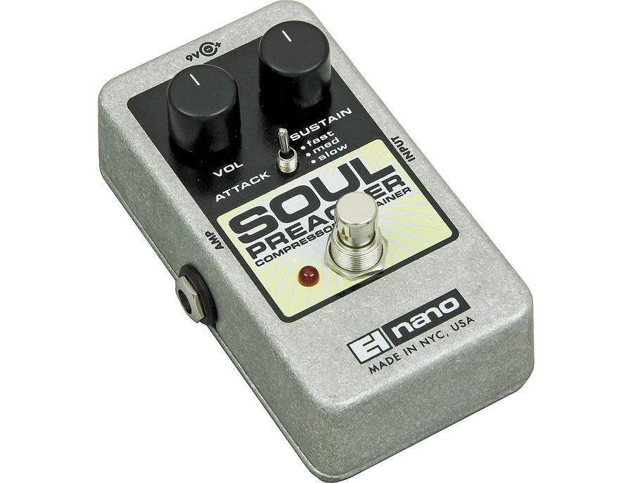 Electro harmonix nano soul preacher comp pedal 01 xl