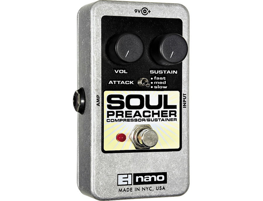 Electro harmonix nano soul preacher comp pedal 02 xl