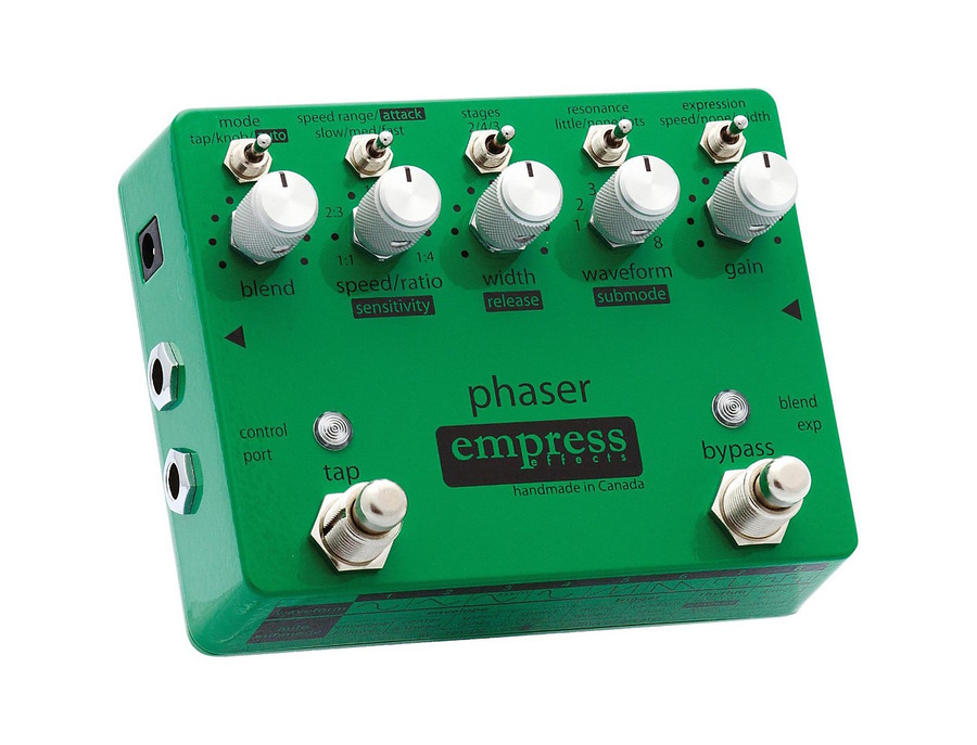 Empress effects phaser pedal 00 xl