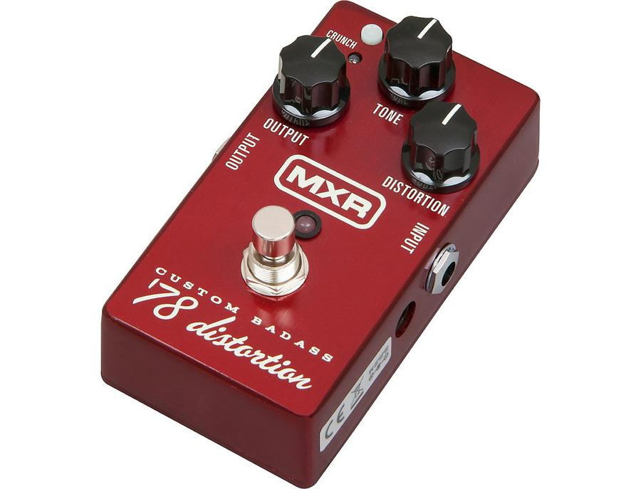 Mxr m78 custom badass 78 distortion pedal 00 xl