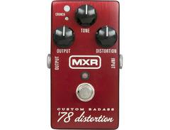 Mxr m78 custom badass 78 distortion pedal 01 s