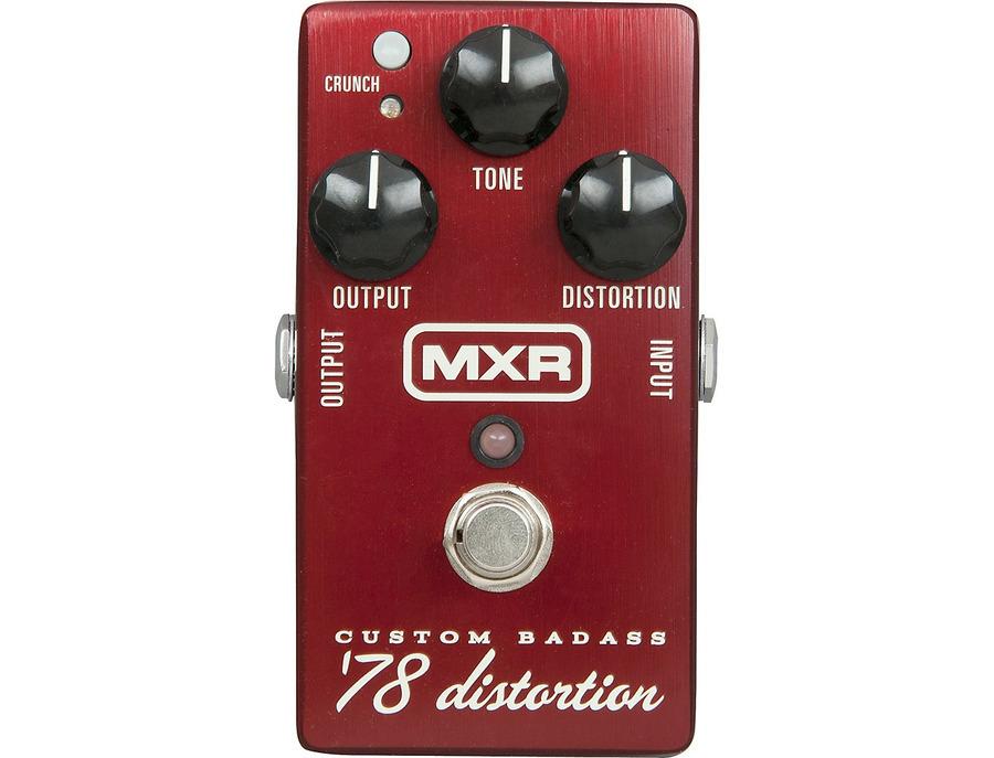 Mxr m78 custom badass 78 distortion pedal 01 xl