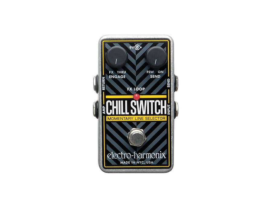 Electro harmonix chill switch momentary line selector 00 xl