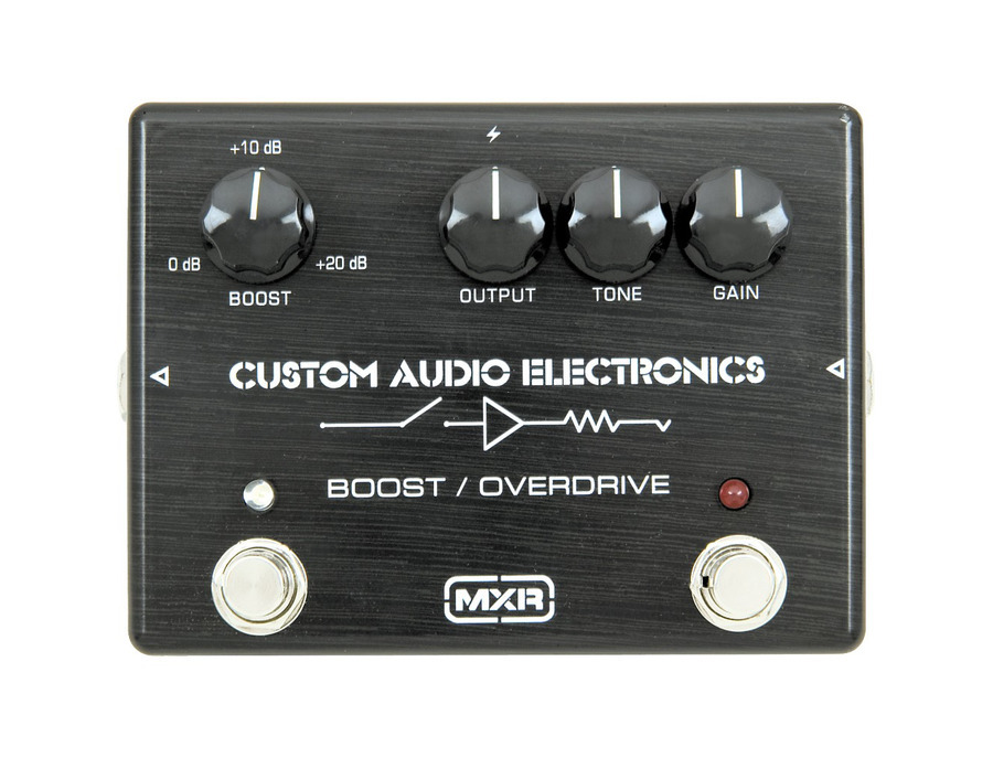 Mxr mc 402 boost overdrive pedal 01 xl