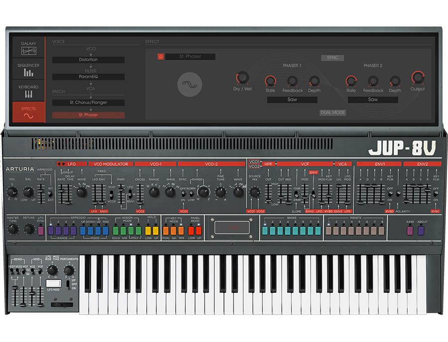Arturia jupiter 8v software synthesizer 00 xl