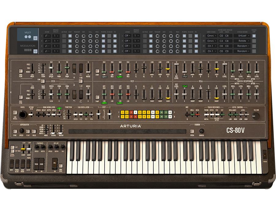 Arturia cs 80 v software synthesizer 00 xl