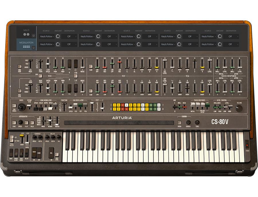 Arturia cs 80 v software synthesizer 02 xl