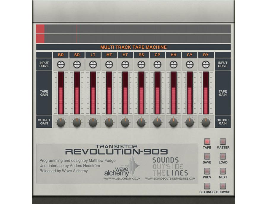 Wave alchemy transistor revolution mkii 03 xl