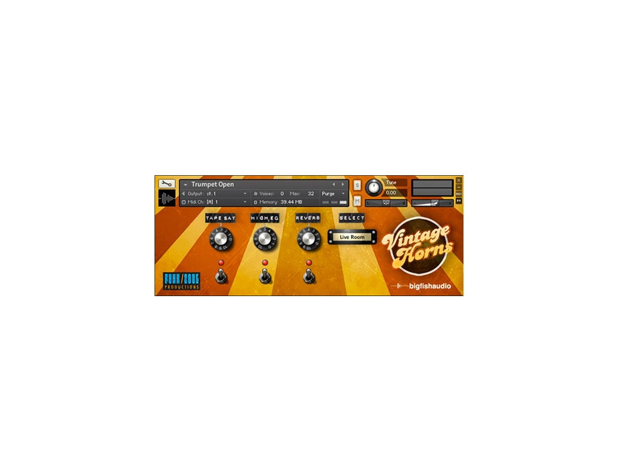 Big fish audio vintage horns 00 xl