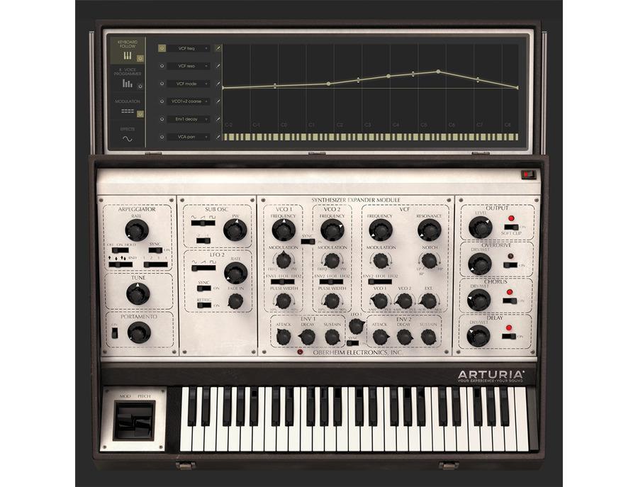Arturia oberheim sem v software synthesizer 00 xl