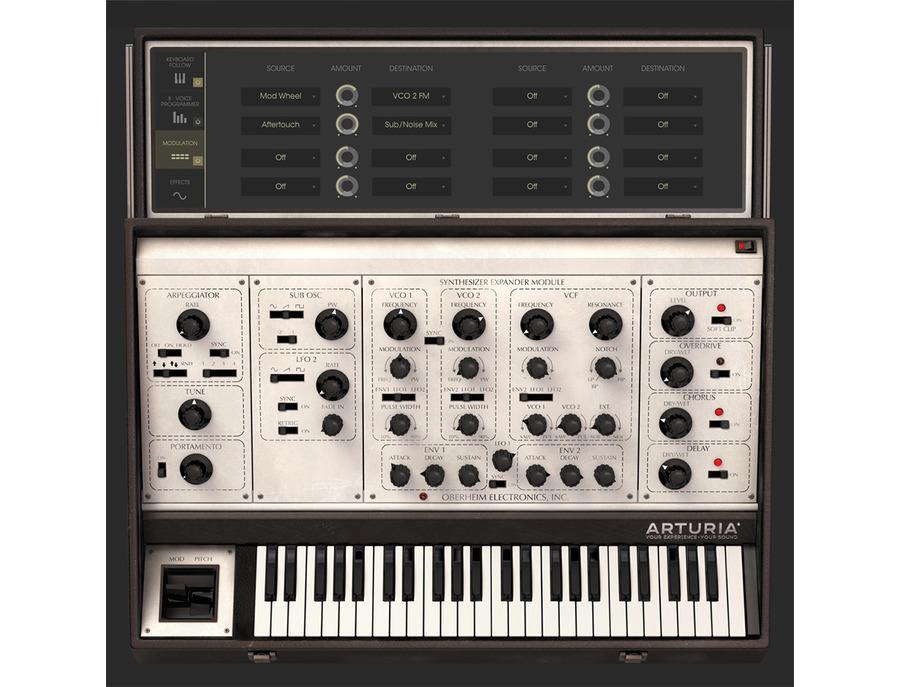 Arturia oberheim sem v software synthesizer 01 xl
