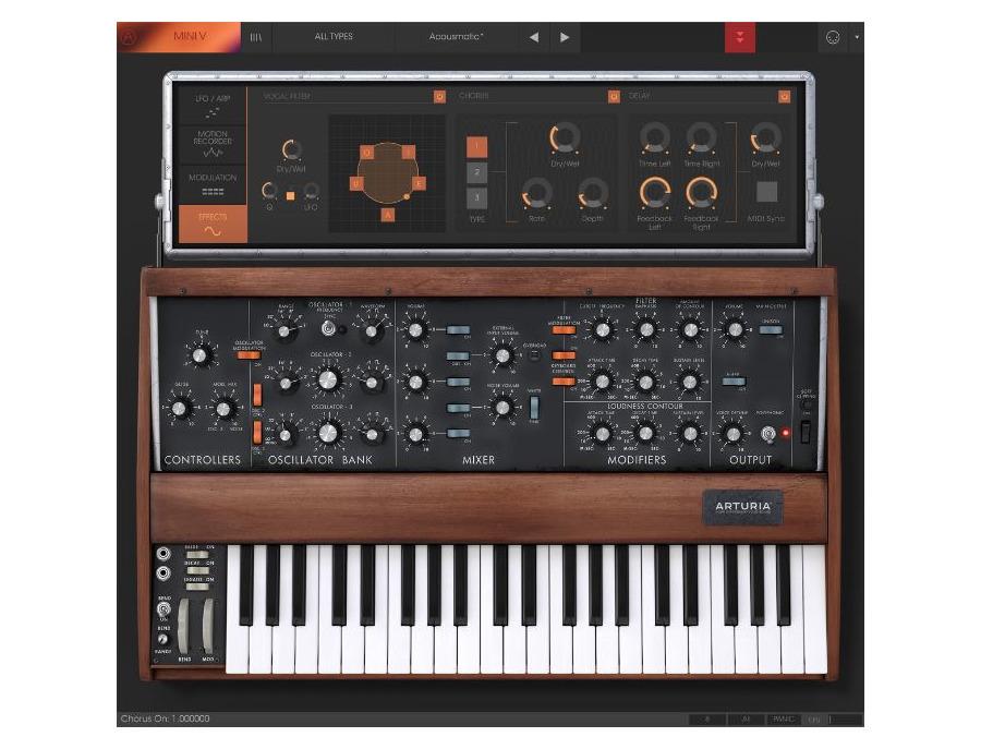 Arturia minimoog mini v software synthesizer 00 xl