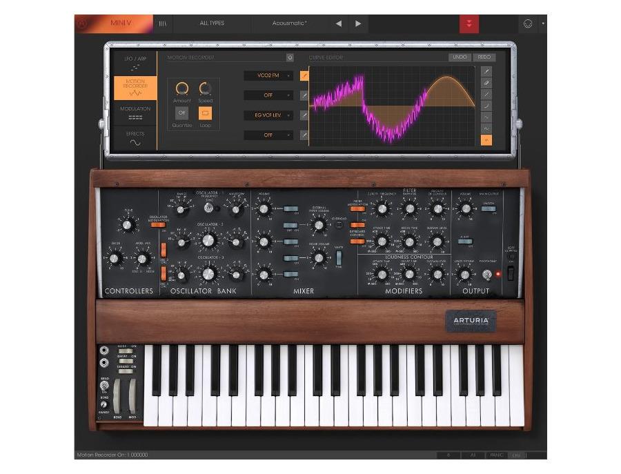 Arturia minimoog mini v software synthesizer 01 xl