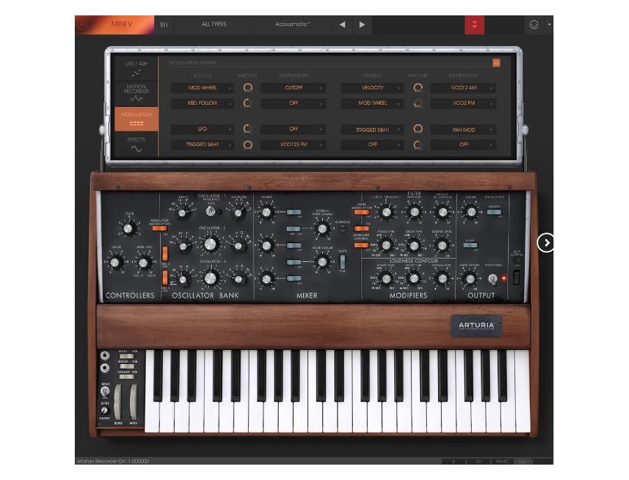 Arturia minimoog mini v software synthesizer 02 xl