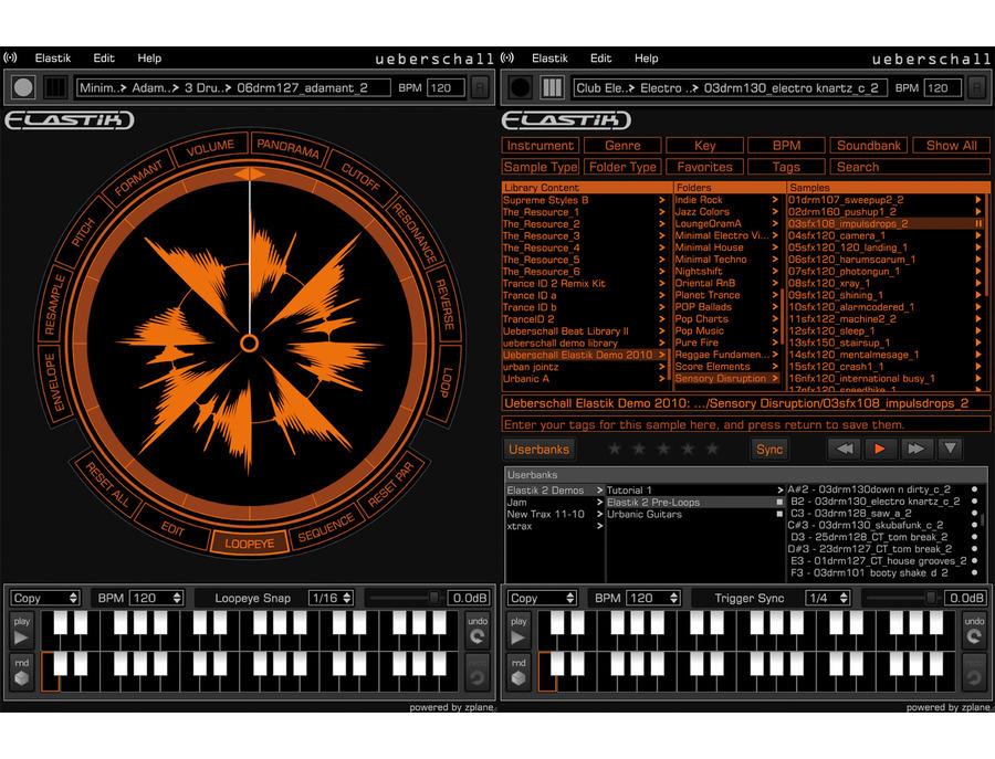 Ueberschall elastik 2 player 01 xl