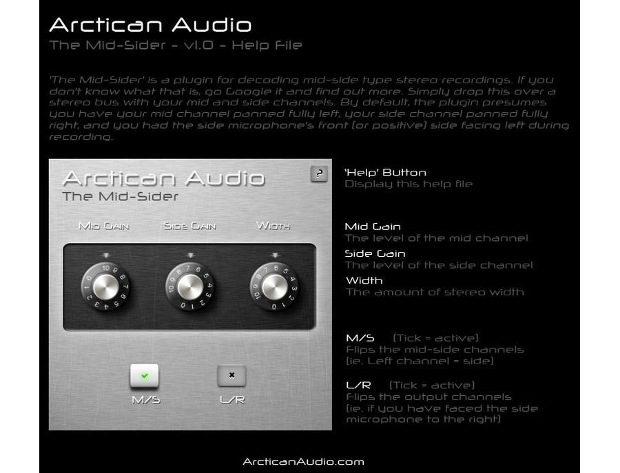 Arctican audio the mid sider 00 xl
