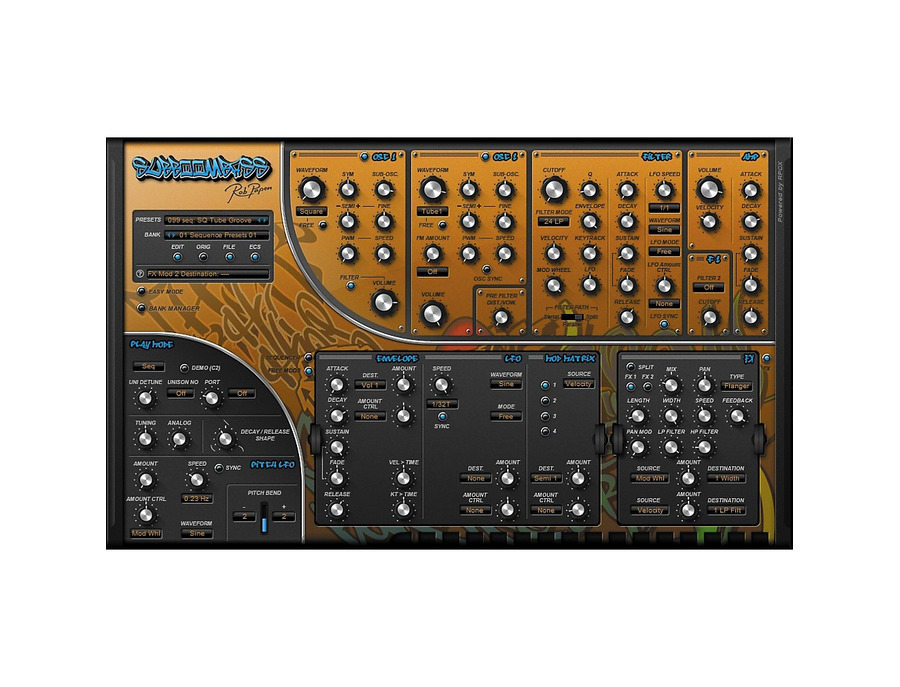 Rob papen subboombass software synthesizer 00 xl