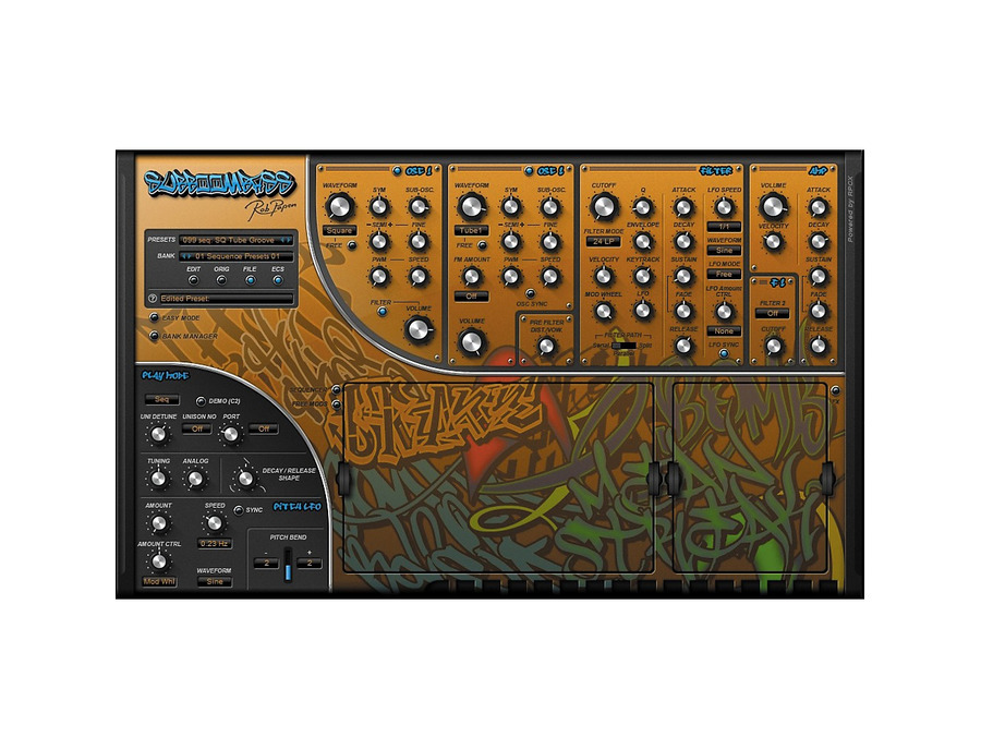 Rob papen subboombass software synthesizer 01 xl