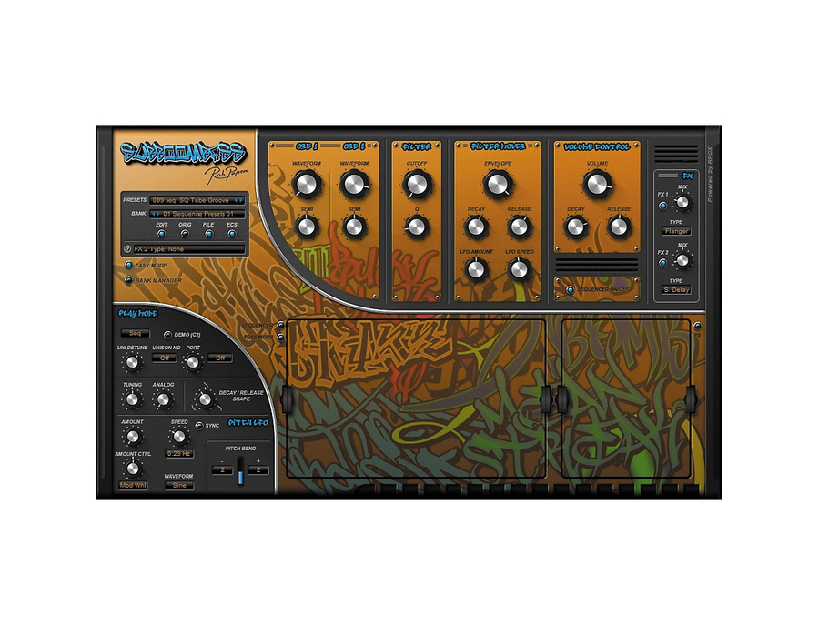 Rob papen subboombass software synthesizer 02 xl