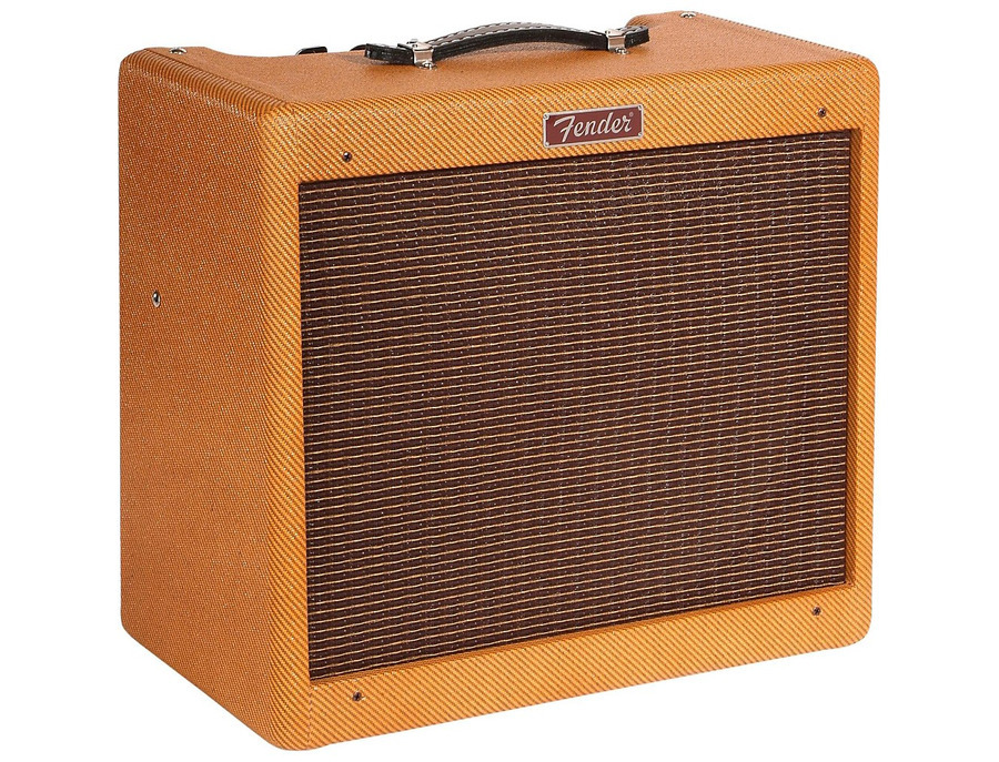 Fender hot rod series blues junior 15w 1x12 tube guitar combo amp 01 xl