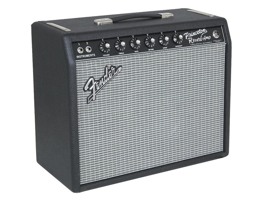 Fender 65 princeton reverb 15w 1x10 tube guitar combo amp 07 xl
