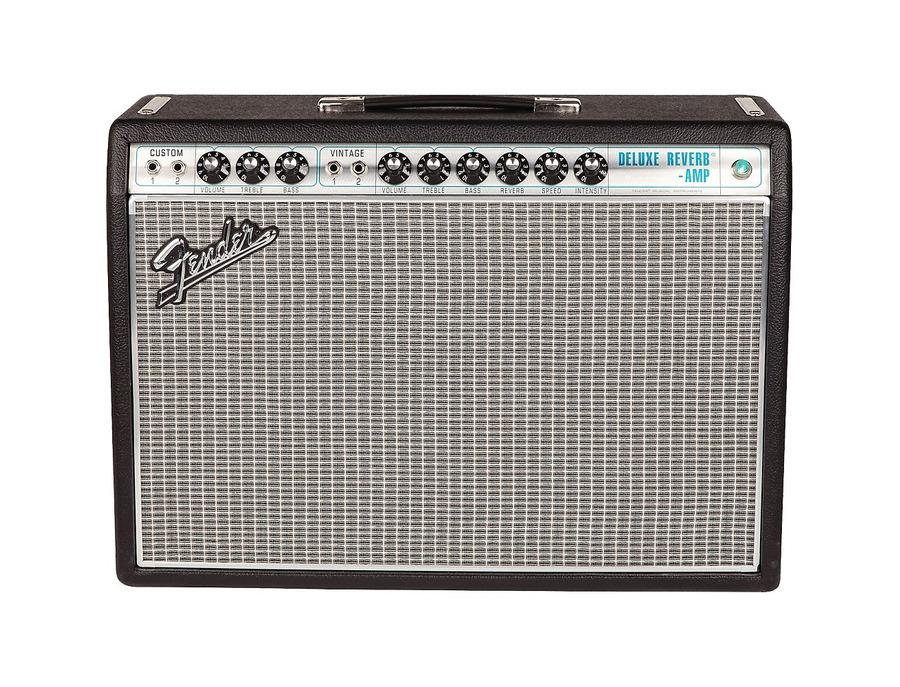 Fender 68 custom deluxe reverb guitar amplifier 01 xl